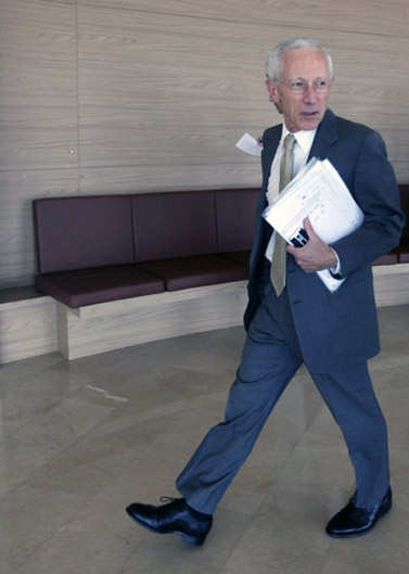 נגיד בנק ישראל סטנלי פישר (צילום: קובי גדעון)