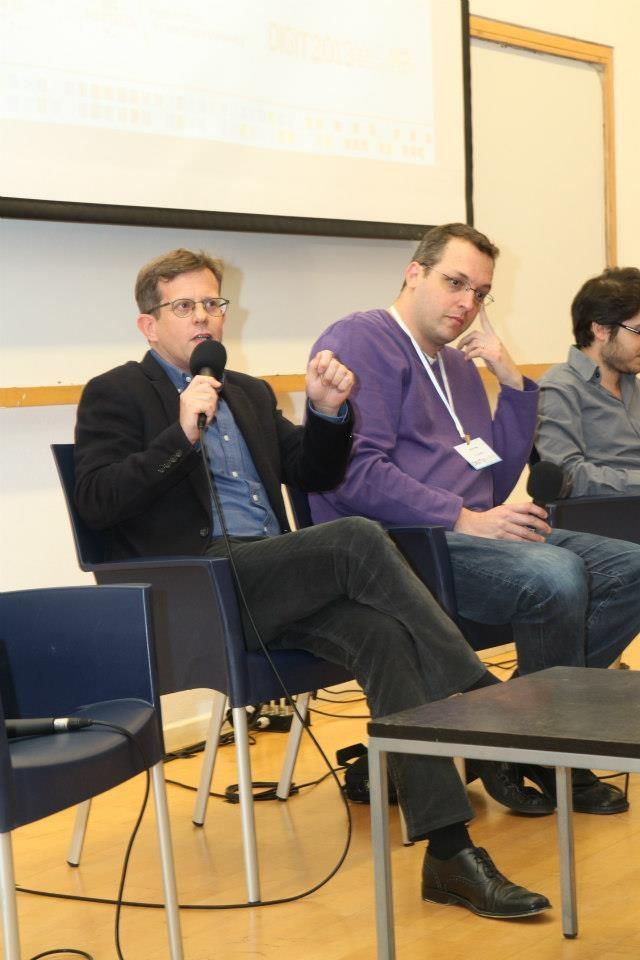 המשנה לעורך ynet, ערן טיפנברון, בכנס DIGIT2013 (צילום: טלי גואטה)
