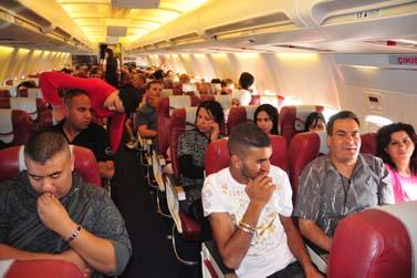ישראלים בטיסה לטורקיה, פסח 2009 (צילום: שי לוי)