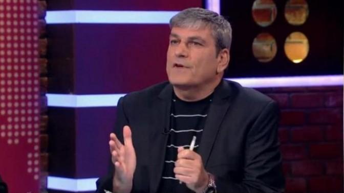 פרשן הכדורגל משה פרימו בערוץ הספורט (צילום מסך)