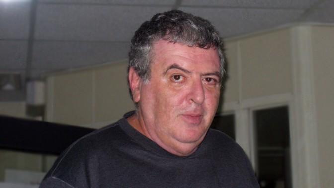 """אמנון דנקנר בתקופת היותו עורך """"מעריב"""", אוקטובר 2005 (צילום: עמית נבון)"""