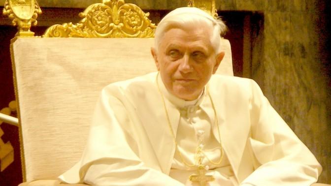 האפיפיור בנדיקטוס ה-16. צילום: Sergey Kozhukhov (רשיון cc-by-sa)