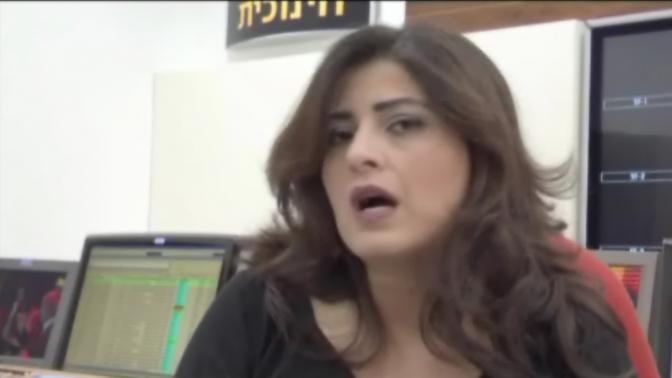 """העיתונאית גל גבאי בסרטון קידום לתוכנית """"ואקום"""" (צילום מסך)"""