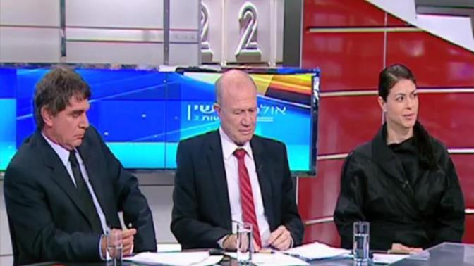 """מרב מיכאלי בתוכנית """"אולפן שישי"""" בערוץ 2 (צילום מסך)"""