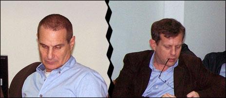 """ערן טיפנברון (מימין) ויון פדר (צילום: """"העין השביעית"""")"""