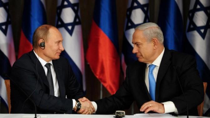 ראש הממשלה בנימין נתניהו והנשיא הרוסי פוטין לאחר פגישתם הקודמת, בירושלים. 25.6.12 (צילום: מרק ישראל סלם)