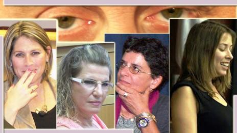 """מימין: שרון שפורר, ענת סרגוסטי, הדס שטייף וטל שניידר (צילומים: """"העין השביעית"""")"""
