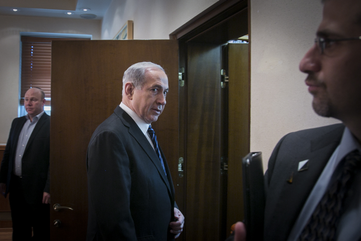 ראש הממשלה בנימין נתניהו, אתמול (צילום: מארק ישראל סלם)