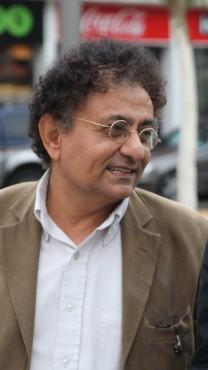 רוני דניאל ובן-דרור ימיני. סינמטק תל-אביב, 20.11.2011 (צילום: מתניה טאוסיג)