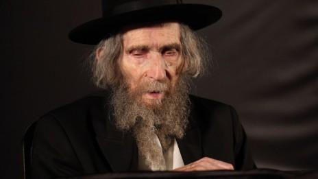הרב אהרן יהודה לייב שטיינמן בכנס בבני-ברק, 9.9.12 (צילום: פלאש 90)