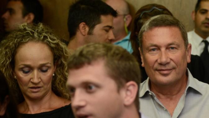 נוחי דנקנר בבית המשפט בתל-אביב, 6.6.13 (צילום: פלאש 90)