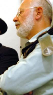 הרב הצבאי הראשי לשעבר ישראל וייס (צילום: יוסי זמיר)