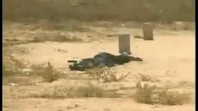 עימאד מוחמד חסן ג'אנם, צלם עיתונות מערוץ אל-אקצא של החמאס, בתמונה מתוך סרטון המתעד את הירי שהביא לכריתת רגליו