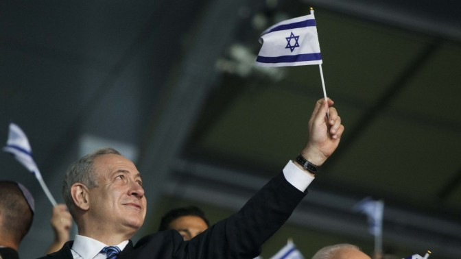 ראש ממשלת ישראל, בנימין נתניהו, בפתיחת משחקי המכבייה בירושלים, בשבוע שעבר (צילום: יונתן זינדל)