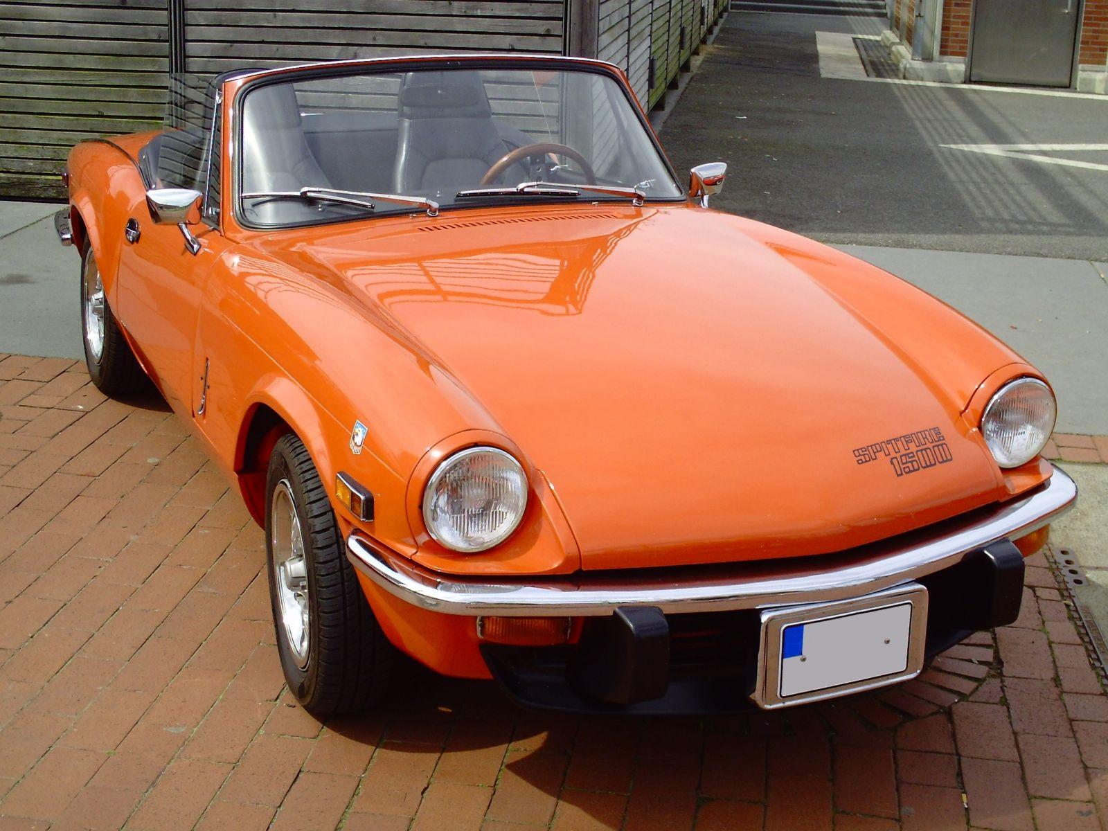 מכונית טריומף ספיטפייר פתוחה (צילום: Tvabutzku1234, רישיון CC)