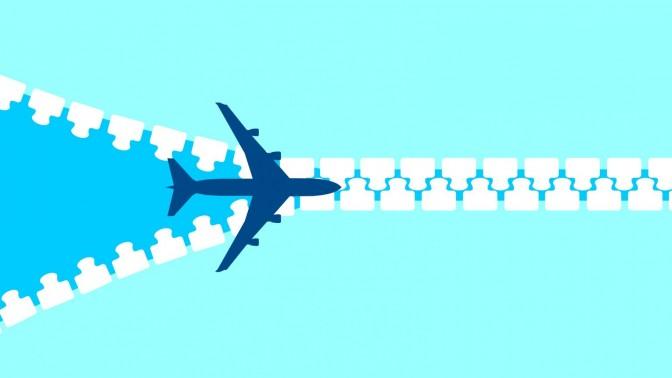 מטוס רוכסן. איור: Sorbis / Shutterstock