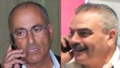 """מנכ""""ל אגודת העיתונאים תל-אביב יוסי בר מוחא (מימין) והמשנה למנכ""""ל """"ידיעות אחרונות"""" יעקב כפיר (צילומים: """"העין השביעית"""")"""