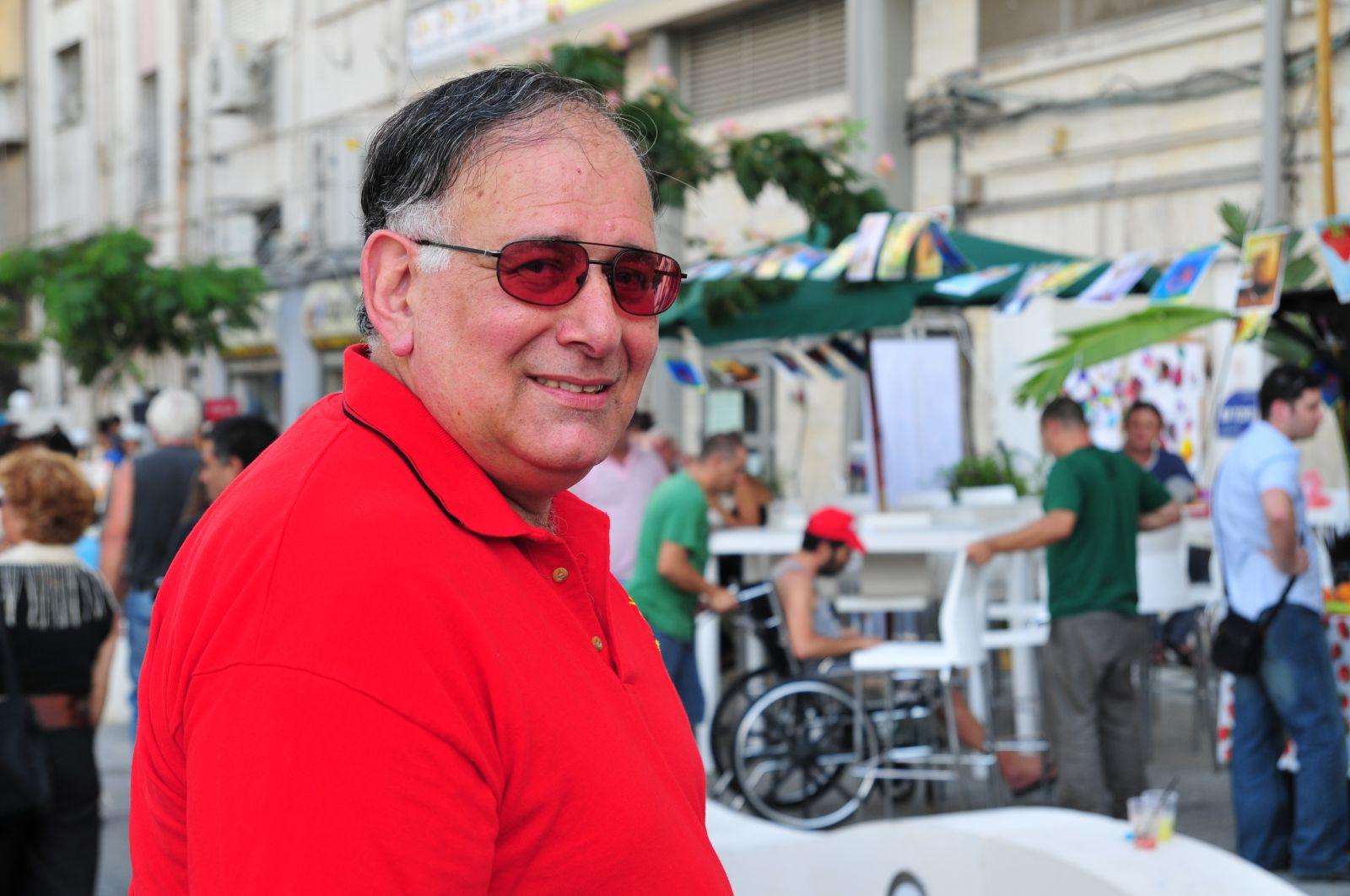 ראש עיריית חיפה, יונה יהב. 3.7.2009 (צילום: שי לוי)