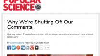 """הודעת עורכת אתר """"פופולר סיינס"""" על הפסקת פרסום תגובות באתר"""
