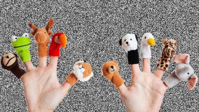 (צילום בובות אצבע מקורי: שאטרסטוק)
