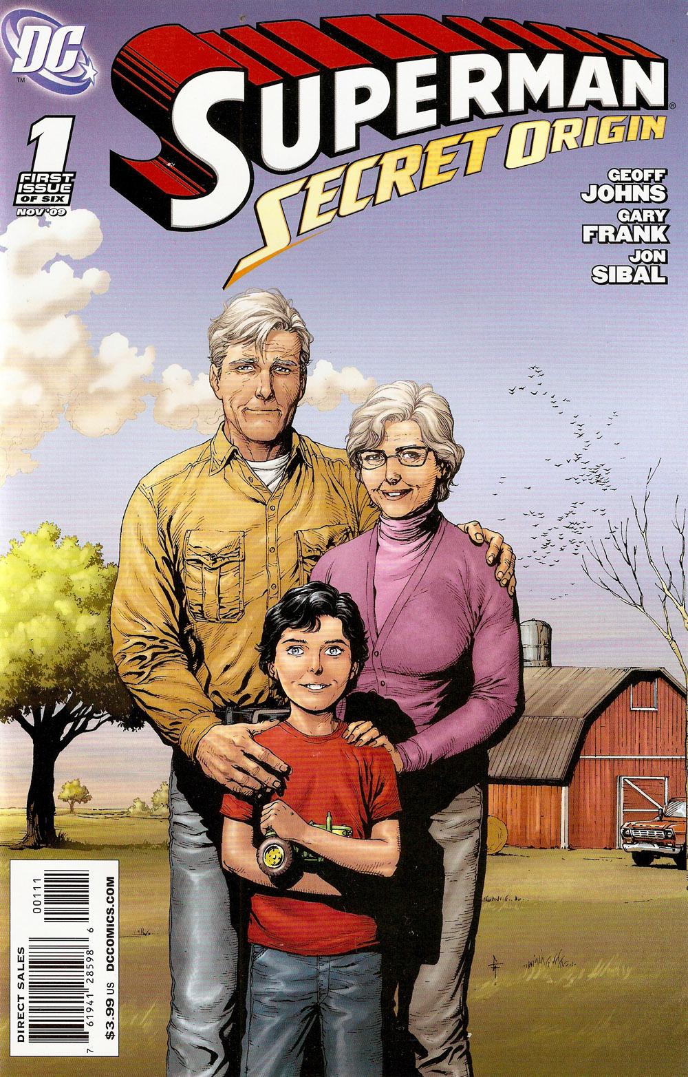 """""""סופרמן – התולדות הסודיות"""", נובמבר 2009"""