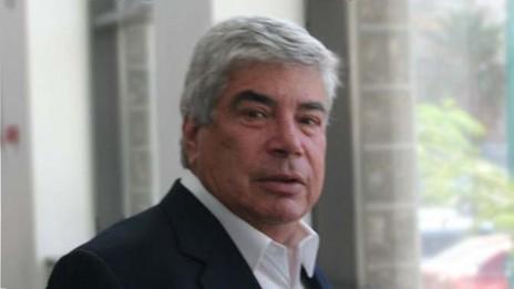 """עמי אראל בבית-המשפט המחוזי מרכז, ספטמבר 2013 (צילום: """"העין השביעית"""")"""