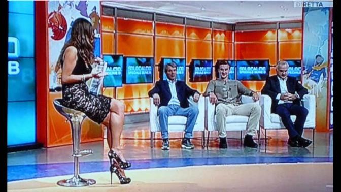 צילום מסך מתוך הטלוויזיה האיטלקית, אוקטובר 2013