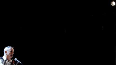 """הרמטכ""""ל בני גנץ, אתמול בירושלים, 13.10.13 (צילום: מרים אלסטר)"""