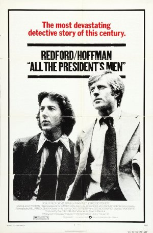 "כרזת הסרט ""כל אנשי הנשיא"", 1976"