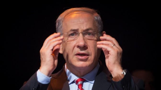 ראש ממשלת ישראל בנימין נתניהו, אתמול. 24.11.13 (צילום: אמיל סלמן)