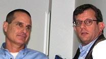 """עורך ynet לשעבר יון פדר (משמאל) עם ערן טיפנברון, העורך הנוכחי (צילום: """"העין השביעית"""")"""