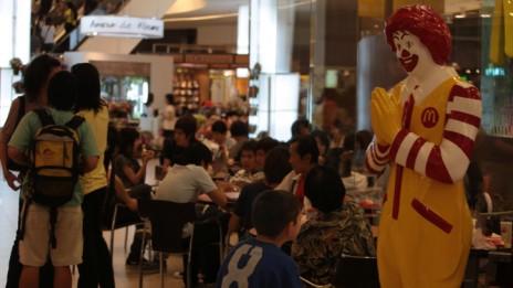 כניסה למסעדת מקדונלדס בבנקוק, תאילנד (צילום: נתי שוחט)