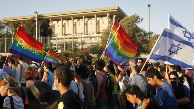מצעד הגאווה בירושלים, 29.7.10 (צילום: מרים אלסטר)