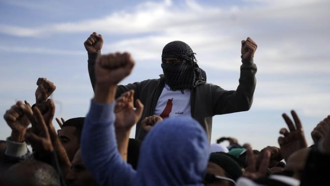 הפגנות נגד תוכנית פראוור, חורה, 30.11.13 (צילום: דוד ביומוביץ')
