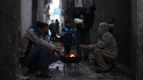 מחנה הפליטים א-שאטי בצפון רצועת עזה, 11.12.13 (צילום: עימאד נאסר)