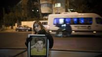 הפגנה נגד שחרור מחבלים, 25.12.13 (צילום: יונתן זינדל)