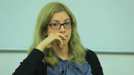 """עו""""ד דנה נויפלד. המכללה למינהל, 11.12.13 (צילום: שלומי מזרחי)"""