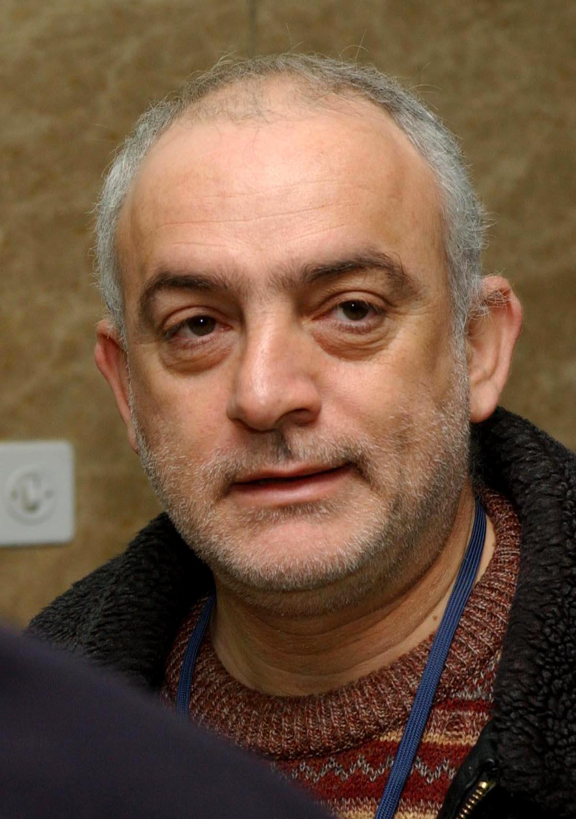 יוני בן-מנחם, 2003 (צילום: פלאש 90)