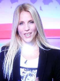 """שרון פרי בתוכנית """"פסק זמן"""" בערוץ 1 (צילום מסך)"""
