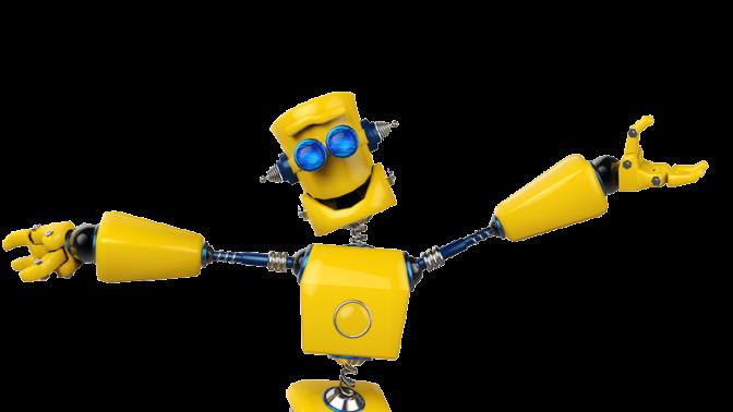 (איור רובוט שמח: שאטרסטוק)