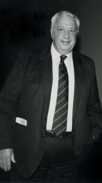אריאל שרון, 1986 (צילום: משה שי)