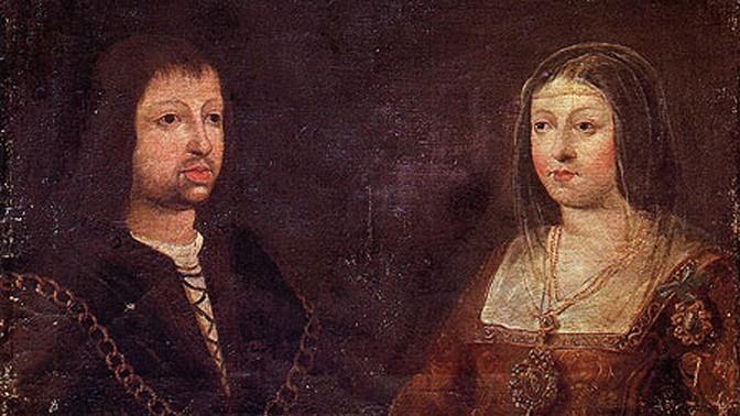 שגרירות ספרד דיוקן הנישואין של מלך ארגון פרדיננד השני והמלכה איזבלה מקסטיליה, מגרשי יהדות ספרד