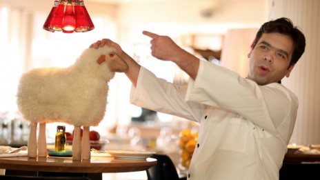 השף רפי כהן, 2012 (צילום: משה שי)