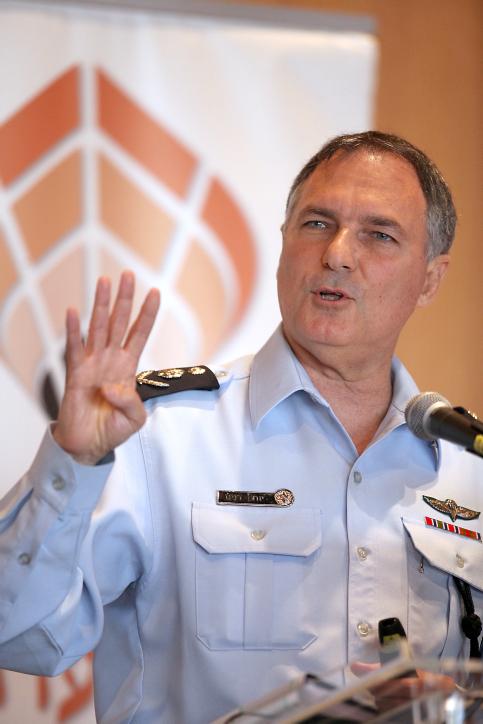 """מפכ""""ל המשטרה יוחנן דנינו (צילום: גדעון מרקוביץ')"""