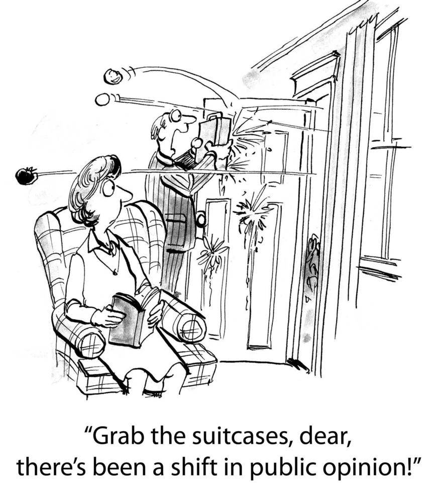(קריקטורה: שאטרסטוק)