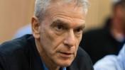 """רם לנדס בדיון בדו""""ח הוועדה בראשותו בוועדת הכלכלה של הכנסת, 19.3.14 (צילום: פלאש 90)"""