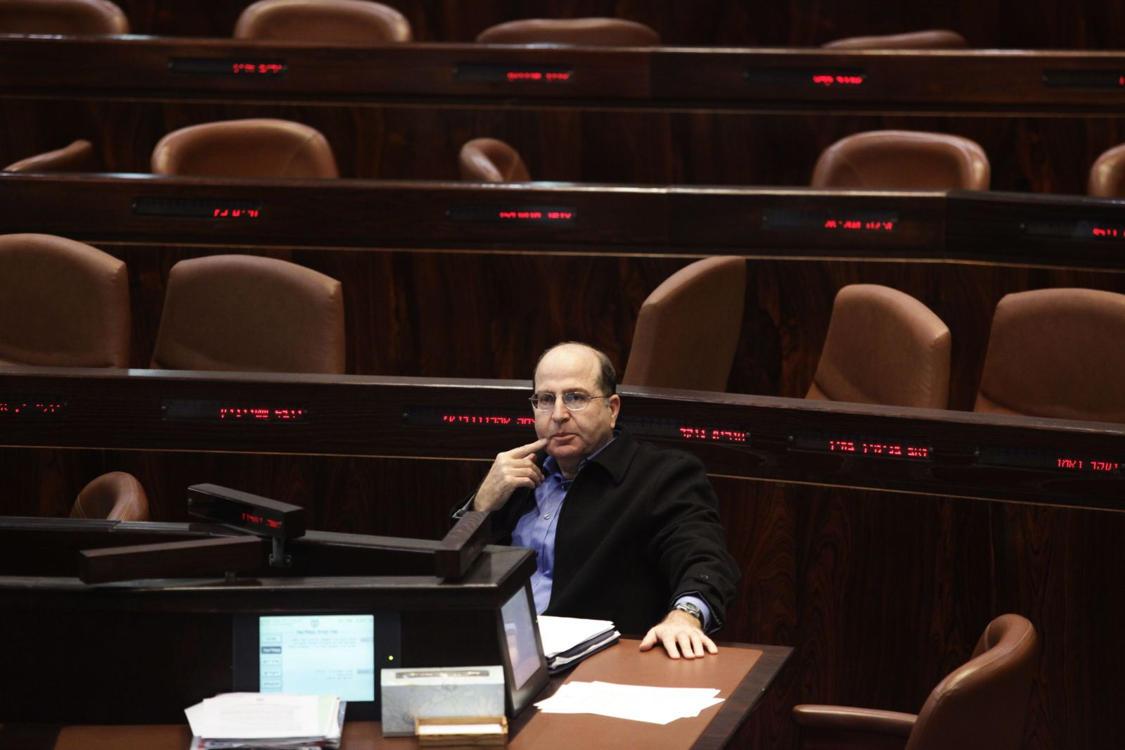 משה יעלון (צילום: קובי גדעון)