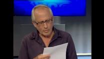 יגאל סרנה בטלוויזיה החינוכית (צילום מסך)