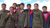 חיילים בצבא קוריאה-הצפונית, 7.9.08 (צילום: מקסים טופיקוב, שאטרסטוק)