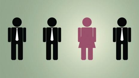 (איור תת ייצוג לנשים: שאטרסטוק)